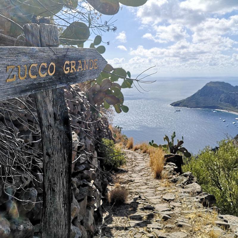 Trekking a Zucco Grande